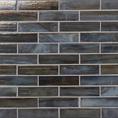 Lumina Dark Grey Glass Mosaic 327x327x5mm