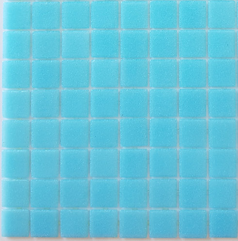 Pacific One VTC20.22 Glass Pool Mosaic 322x322x4mm (20x20mm chip) Hotmelt