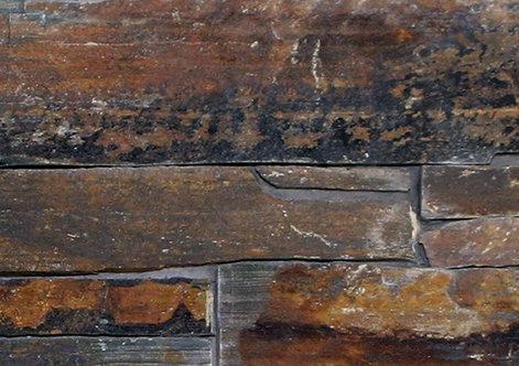 Ledgestone Multi Colour Slate Stone Panel 152x610mm