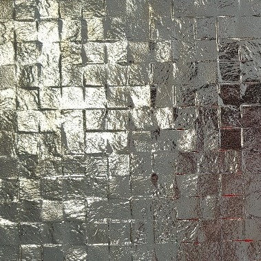Shimmer Silver Large 3D Cubes 300x600x8mm