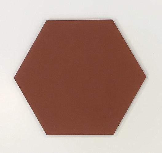 Terracotta Unglazed Matt Hexagon 150x150x6mm