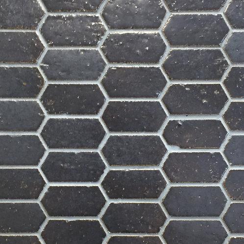 Honeycomb Stack Gunmetal Terracotta Mosaic 275x285x10mm