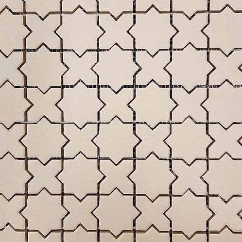 Pheonix Rosa Matt Mosaic Sheet 380x310x8mm