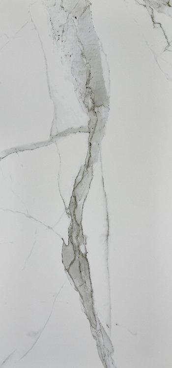Carrara Porcelain Honed 4mm Rectified Edge 600x1200