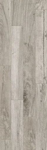 Grey Oak Matt Rectified Timber Look Porcelain Tile 200x1200x10mm