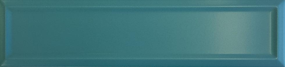 Miami Dark Green Frame Ceramic Matt Pressed Edge Subway 68x280x7mm