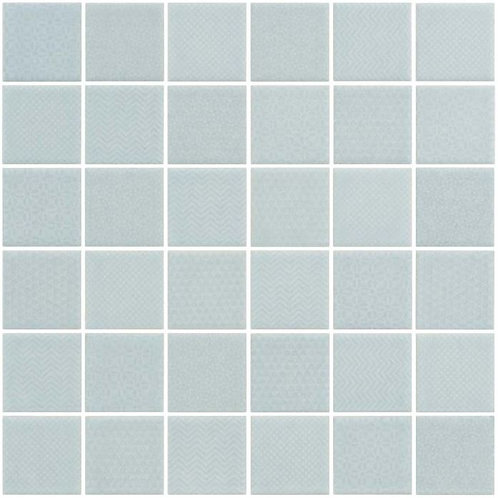 Cape Cod Mint Glazed Porcelain Mosaic 297x297x4mm (47x47mm chip)