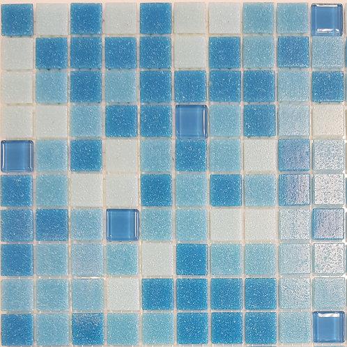 Straddie Glass Mosaic 320x320x4mm (20x20mm chip)