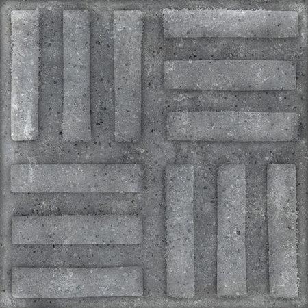 Somersby Dark Stripe Cemento Decor External P5 200x200x10mm
