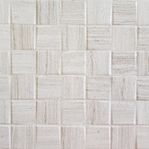 French Wood Grey Large Cubes Porcelain Tile 300x600x8mm
