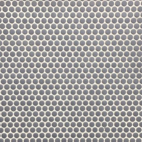 Circlets Dark Denim Enamel Glass Matt Mosaic 310x312x5mm
