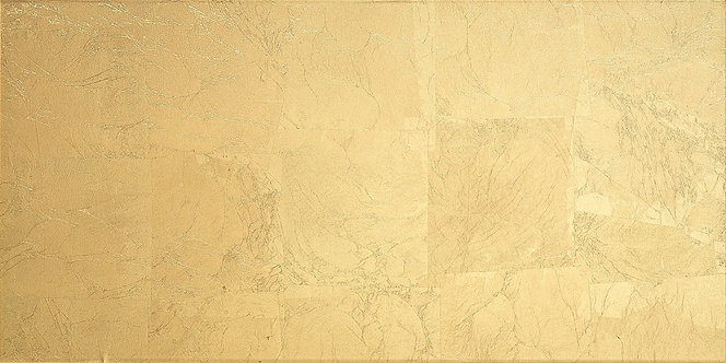 Panache Gold Glass Feature Wall Tile 300x600mm by Dune (indent)