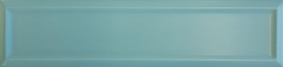 Miami Light Green Frame Ceramic Matt Pressed Edge Subway 68x280x7mm