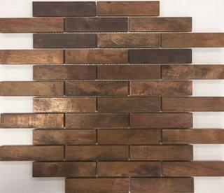 Bonsai Copper Brick Mosaic 298x298x8mm