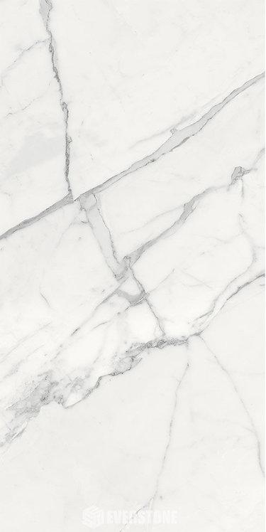 Megaslim Statuario Thin Slab Large Format Porcelain Tile 1200x2400x6.5mm