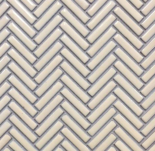 Jenga Bisque Herringbone Mosaic 283x283mm