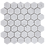Thumbnail: Aruba Carrara C Honed Hexagon 300x315x10mm