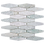 Thumbnail: Verdi Cristallo Honed Solarium Mosaic 277x252x10mm
