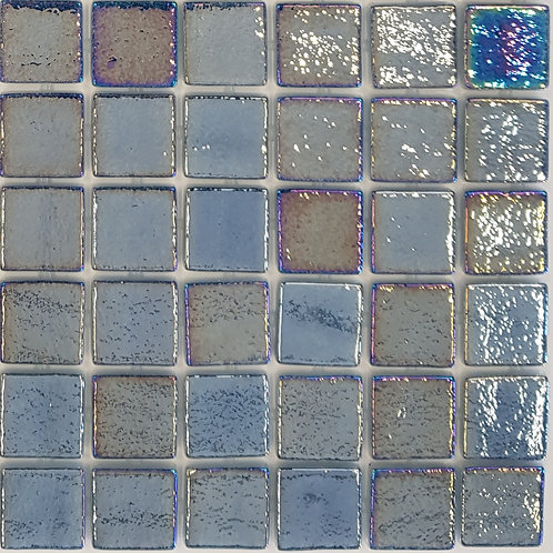 Kona Pearl 100 Glass Mosaic 310x310x4mm (25x25mm chip)