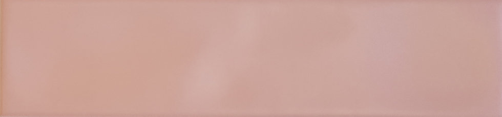 Miami Pink Wave Ceramic Matt Pressed Edge Subway 68x280x7mm