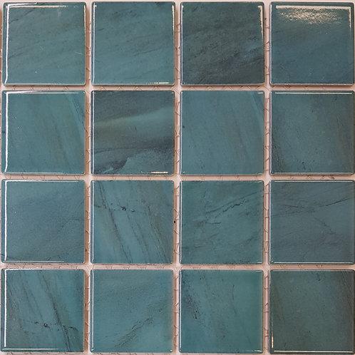 Carrera Green Porcelain Mosaic 303x303x4mm (58x58mm chip)