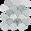 Thumbnail: Verdi Cristallo Emerald Wash Honed Fan Mosaic 244x263x10mm