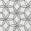 Thumbnail: Geo Flower Carrara D Honed &Thassos 305x350x10mm