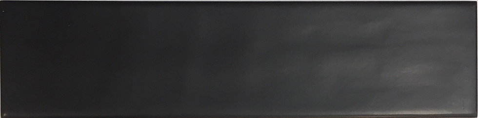 Coral Reef Subway Collection Black Matt Structured 65x265x8mm