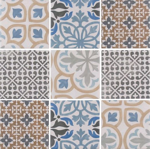 Granberg Porcelain Pressed Edge Mosaic 300x300x4mm