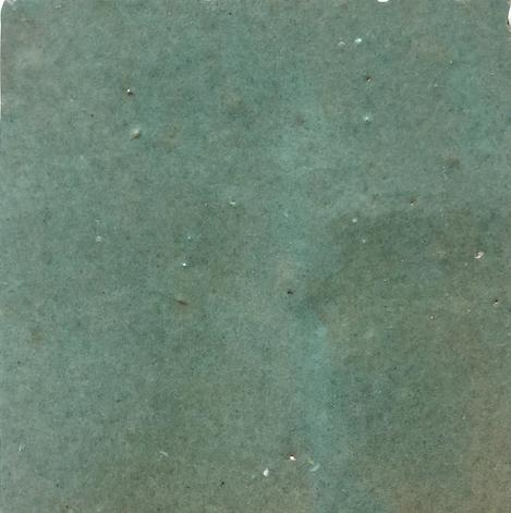 Spearmint Zellige Morocco Handmade Glazed 100x100x13mm
