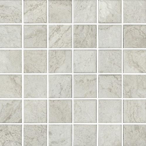 Lombok Bianco Porcelain Mosaic R10 297x297x4mm (47x47mm chip)