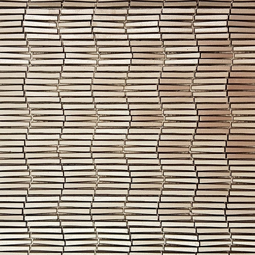 Gold Vertex Ripple 3D Mosaic 303x398x6mm