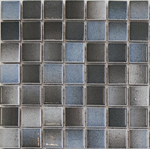 Ocean Cloud Porcelain Mosaic 295x295x4mm (25x25mm chip)