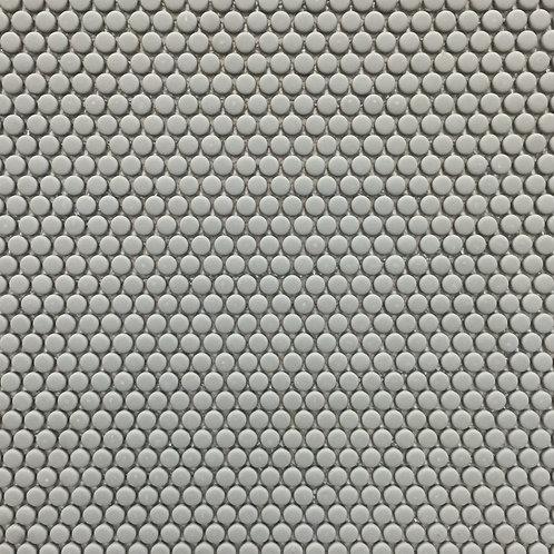Circlets Olive Enamelled Matt Glass Mosaic 310x312x5mm