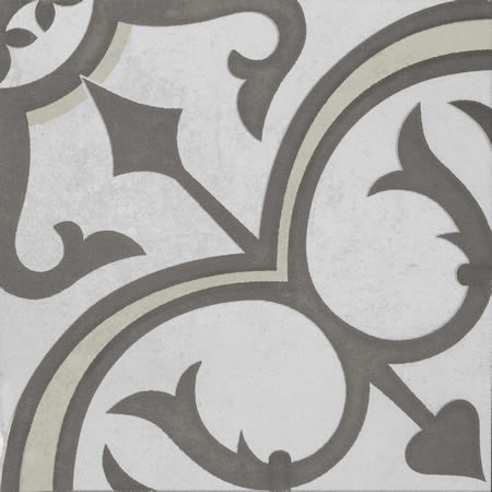 Artisan Winchester Chocolate/Clay Heritage Patterned 200x200x7mm