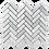 Thumbnail: Verdi Cristallo Honed Herringbone 280x248x10mm