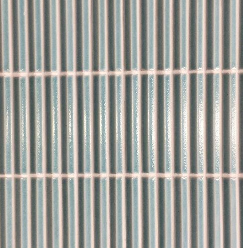 Stockade Teal 3d Bevelled Mosaic 300x300mm