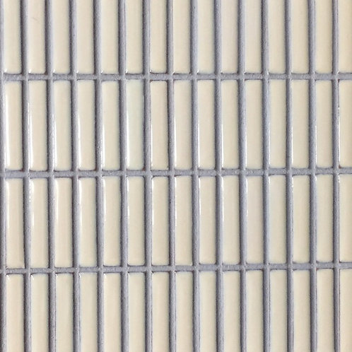 Jenga Bisque Stacked Mosaic 300x300mm