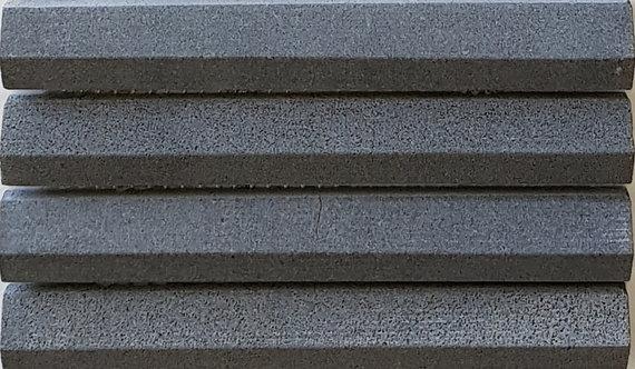 Firenze Basalt 3D Honed Mosaic 292x306x8mm (Chip 19x145mm)