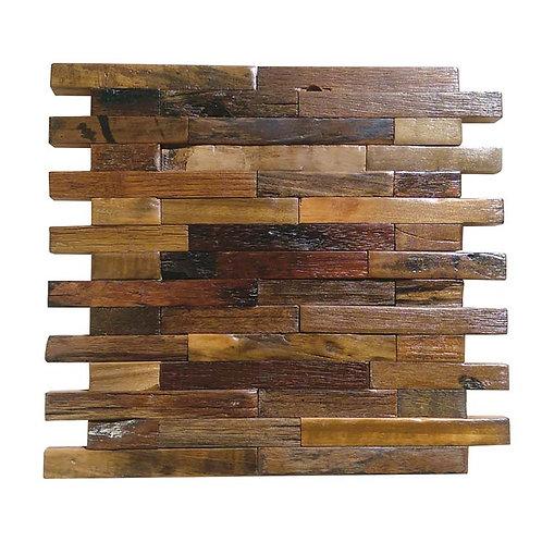 Caribbean 301 Vitric Natural Timber Panels Polished 300x300