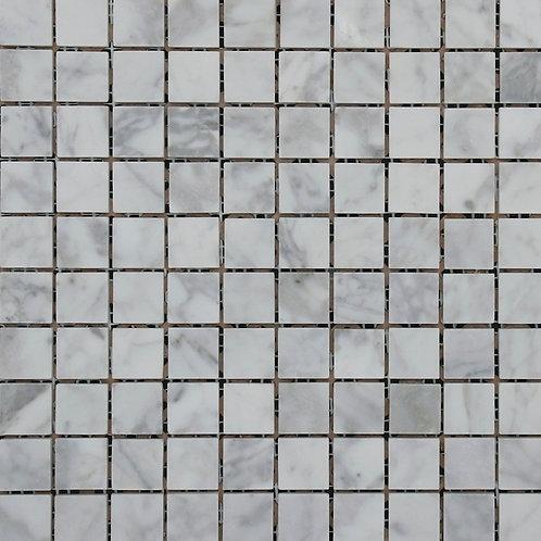 Aruba Carrara C Honed Mosaic 300x300x10mm