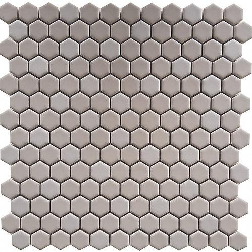Gypsy Grey Hexagon Porcelain Mosaic 305x302mm