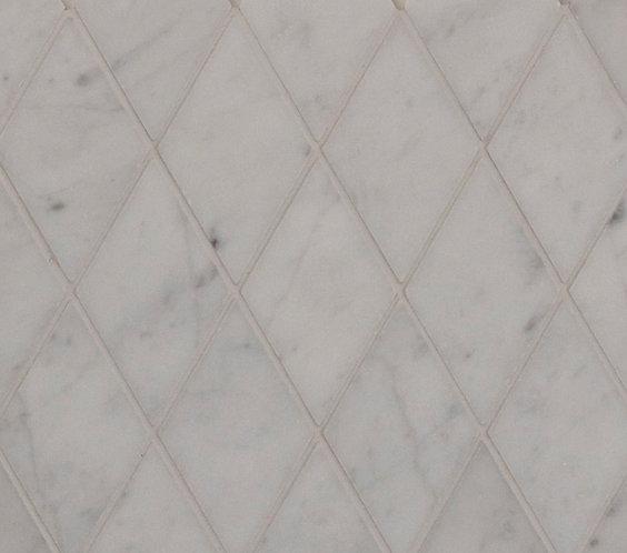 Aruba Carrara C Diamond Mosaic Honed 285x309x10mm