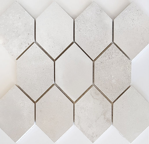 Benetti Blanc Honed Mosaic 310x330x10mm