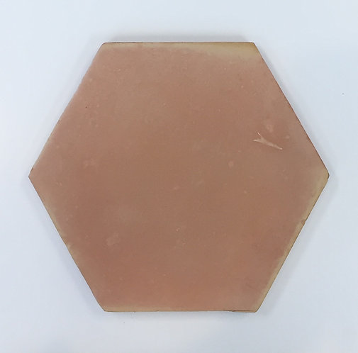 Handmade Terracotta Hexagon 220x220X18mm