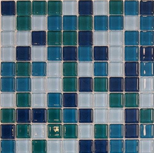 Daydream Glass Mosaic 320x320x4mm (20x20mm chip)