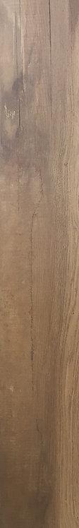 Cedar Lodge Walnut Rectified Edge Timber Look Porcelain Tile 197x1200x10mm