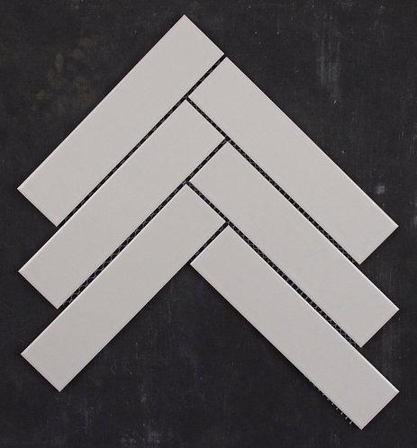 Summit White Herringbone Gloss Mosaic 205x290x5mm