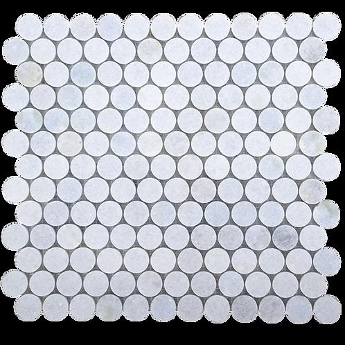 Cielo Cristallo Polished Penny Round Mosaic 305x287x10mm