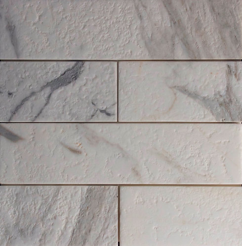 Calacatta Antique Tile 300x75x10mm With 1mm Arris